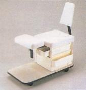 KAYLINE 509 All WHITE Pedicure Pal Salon Spa Cart w/ Back Rest + Free Cape Co. Apron