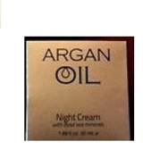 Spa Cosmetics Argan Oil Night Cream, 50ml