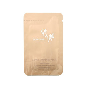 30 x Donginbi Red Ginseng Concentrated Overnight Mask 2mlx30ea 60ml Sample Korea Cosmetic