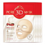 [TOSOWOONG]3D Pore Tightening Mask 5pc/Sebum/Blackhead/Volcanic Ash/Caviar