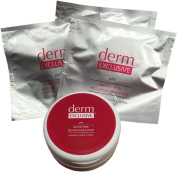 Derm Exclusive Micro Peel Resurfacing Pads-3 Packs of 15 Pads + Container