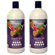 Veneto Mediterranean Blend, 1890ml of 12 %, (Dark Skin Types) DHA Sunless Airbrush Spray Tanning Solution