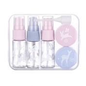 Face Forever Travel Smart Bottles Set for Makeup Cosmetic Shampoo Shower Toiletries Liquid Containers Leak Proof Portable Travel Spray Pastic Plastic bottles