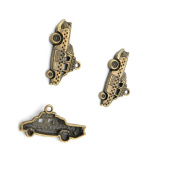 550 Pieces Jewellery Making Charms Findings Antique Bronze Brass Fashion Jewellery Wholesale Supplies Pendant Lots Bulk Supply I5PL5 Taxi Car