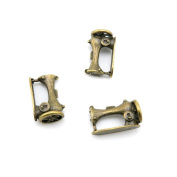20 Pieces Jewellery Making Charms Findings Antique Bronze Brass Fashion Jewellery Wholesale Supplies Pendant Lots Bulk Supply F5DO7 Sewing Machine