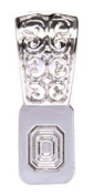 Bold 500202 Silver Plated Moroccan Bails, Pack of 5