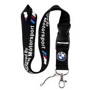 BMW Motorsport Lanyard Keychain