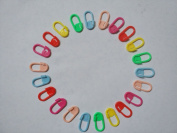 100pcs Mix Colour Plastic Knitting Tools Craft Crochet Locking Stitch Needle Clip Safety Pins Marker Holder For DIY