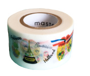 Maste Mark's Washi Masking Deco Tape Standard Souvenirs of The World Japan Edition