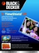 Black & Decker 10cm x 15cm . Professional Laminating Pouch For Use With Photo, 5 Mil Thickness, Pack - 25
