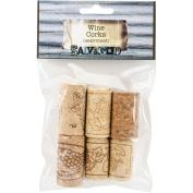 Salvaged Wine Corks 6/Pkg-Assorted