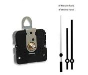 Takane Quartz Clock Movement Mechanism With 10cm Straight Hands, U.S.A. Made