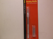 Hobby Craft Knife with Cap & 2 Extra Blades