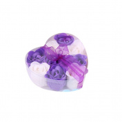 BESTIM INC(TM) Bath Body Flower Heart Favour Soap Rose Petal Wedding Decoration Party Gift
