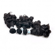 Code Colla 8-90cm Nature Colour Mix Length Aunty Funmi Straight Hair 3 Bundles Hair Extension
