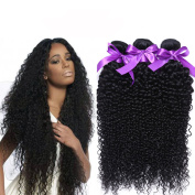 Magic Hair Top Quality Brazilian Virgin Deep Wave, 3 Bundles Natural Colour Raw Unprocessed 100% Human Hair Virgin Deep Wave Hair
