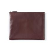 Medium Pouch - Full Grain Leather - Burgundy