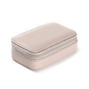 Small Zip Case - Full Grain Leather - Stone