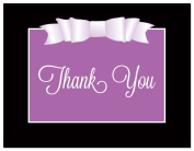 50 Modern Double Bow Thank You Cards