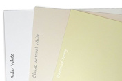 Blank Classic Crest 36kg Solar White 4x6 Flat Card Invitations - 50 Pack