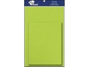 Card & Env 4.25x5.5 10pc Sour Apple