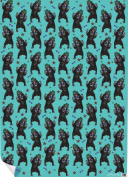 "Chase and Wonder ""Party Bear"" Rolled Gift Wrap Paper"