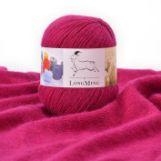 LongMing 21Nm/3 3-ply Cashmere Blended Yarn, Soft and Warm, Crafts, Knitting, High Elasticity, Anti-pilling. 30 Colours