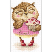 Sweet-Tooth Counted Cross Stitch Kit-10cm x 15cm 14 Count