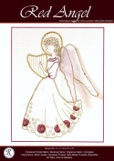 Goldwork Red Angel Needlework Embroidery Kit