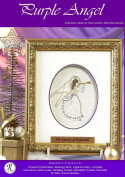 Goldwork Purple Angel Needlework Embroidery Kit