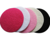 YYCRAFT Pack Of 200pcs Felt 50mm Circle Appliques--5 colours