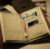 Cloth Pocket / Holder for Traveller's Notebook