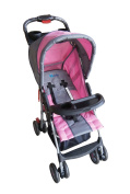 Fizzy Multi Position Stroller, Pink\Grey