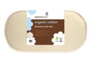 Organic Cotton Waterproof Oval Bassinet Pad , 33cm x 70cm x 5.1cm