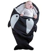 Multifunction Baby Sleeping Bag Newborn Sacks Swaddling Blanket, Baby Bunting in Shark Bite
