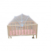 New Foldable Baby Kids Infant Nursery Bed Crib Canopy Safty Arch Mosquito Net Netting Play Tent House
