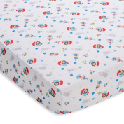100% Polyester, Buried Treasure, Blue Wick Dry Sheet