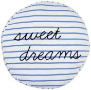 Circle/Wedgewood Decorative Pillow