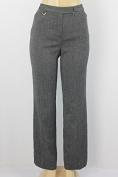 Jones New York women dress pants black sugar combination size 6