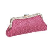 Ustylish Ladies Clutch Purse Shiny Crystal Rhinestone Party Evening Handbags