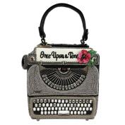 Mary Frances Just My Type Typewriter Old School Handbag Bag
