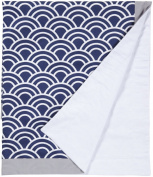 Navy & Grey, Hampton Bay Crib Blanket