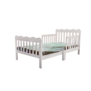 Fizzy Classic Toddler Bed, White