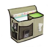 Bigood Homewares 6 Pocket Bedside Storage Mattress Book Remote Caddy