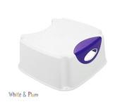 Neat Nursery Step Stool White/Purple