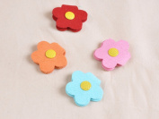 Sweet candy-coloured flowers headphone winder Wrap Snap lovely cloth