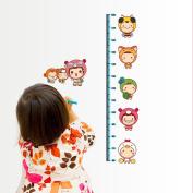 wall sticker home decor Cartoon Height rangefinder