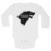 "Cute Game Of Thrones Onesie ""Winter Is Coming"" RB Clothing Co"