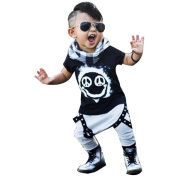 Womail Toddler Set, Infant Kids Smile Paint T-shirt+Pants Outfits for Baby