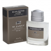 St James of London Black Pepper & Lime Post Shave Gel